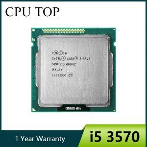 intel i5 3570 Processor Quad Core 3 4Ghz L3 6M 77W Socket LGA 1155 Desktop CPU Innrech Market.com