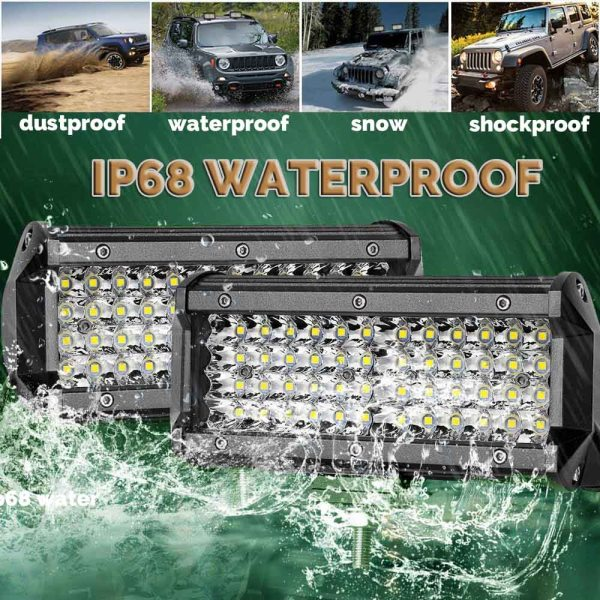 weketory Quad Rows 4 44 Inch LED Bar LED Light Bar for Car Tractor Boat OffRoad 4 weketory Quad Rows 4 - 44 Inch LED Bar LED Light Bar for Car Tractor Boat OffRoad Off Road 4WD 4x4 Truck SUV ATV Driving 12V 24V