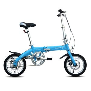 2016 14inch Folding Bike Light Aluminum Alloy cycling bicycle for Youth with disc brake Student bike Innrech Market.com