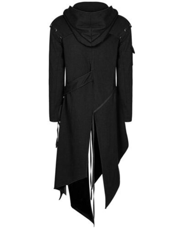 2019 Men Long Sleeve Steampunk Victorian Jacket Gothic Belt Swallow Tail Coat Cosplay Costume Vintage Halloween 1 2019 Men Long Sleeve Steampunk Victorian Jacket Gothic Belt Swallow-Tail Coat Cosplay Costume Vintage Halloween Long Uniform