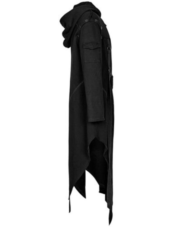 2019 Men Long Sleeve Steampunk Victorian Jacket Gothic Belt Swallow Tail Coat Cosplay Costume Vintage Halloween 5 2019 Men Long Sleeve Steampunk Victorian Jacket Gothic Belt Swallow-Tail Coat Cosplay Costume Vintage Halloween Long Uniform