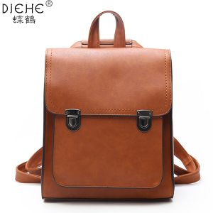 Fashion Women Backpack Women s PU Leather Backpacks Girl School Bag backpack High Quality vintage shoulder Innrech Market.com