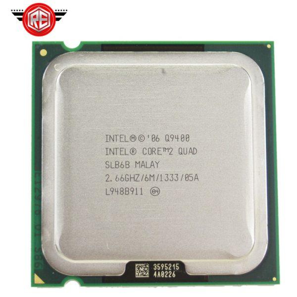 INTEL CORE 2 QUAD Q9400 Processor 2 66GHz 6MB L2 Cache FSB 1333 Desktop LGA 775 INTEL CORE 2 QUAD Q9400 Processor 2.66GHz 6MB L2 Cache FSB 1333 Desktop LGA 775 CPU