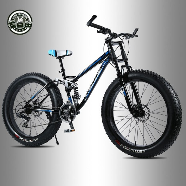 Love Freedom High Quality Bicycle 21 24 Speed Mountain Bike 26 Inch 4 0 Fat Tire 2 Love Freedom High Quality Bicycle 21/24 Speed Mountain Bike 26 Inch 4.0 Fat Tire Snow Bike Double disc Shock Absorbing Bicycle