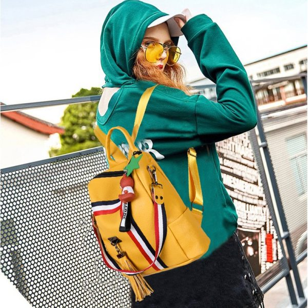 bags for women 2019 new retro fashion zipper ladies backpack PU Leather high quality school bag 2 bags for women 2019 new retro fashion zipper ladies backpack PU Leather high quality school bag shoulder bag for youth bags