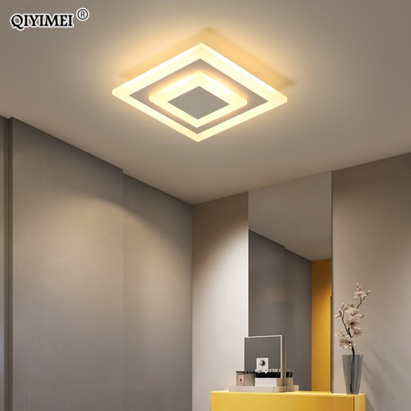 Ceiling Light Modern LED corridor Lamp For bathroom living room round square lighting Home Decorative Ceiling Light Modern LED corridor Lamp For bathroom living room round square lighting Home Decorative Fixtures dropshipping