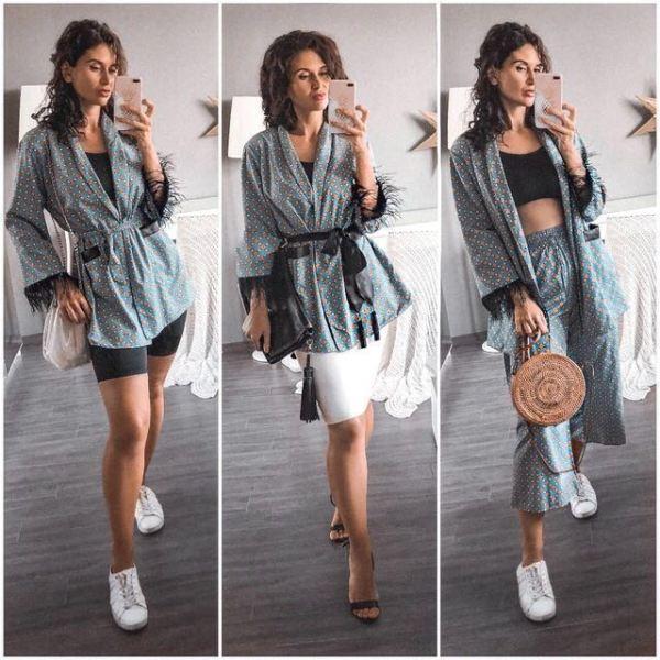 Fashion jacket women loose kimono coat bow tie sashes pockets tassel decorate outerwear oversized ladies autumn 2 Fashion jacket women loose kimono coat bow tie sashes pockets tassel decorate outerwear oversized ladies autumn