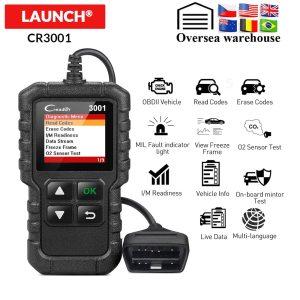 Launch X431 Creader 3001 OBD2 Automotive Scanner CR3001 Car Diagnostic Tool OBDII OBD 2 Code Reader Innrech Market.com