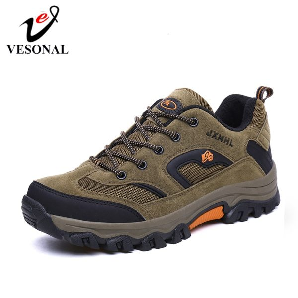 VESONAL 2019 New Autumn Winter Sneakers Men Shoes Casual Outdoor Hiking Comfortable Mesh Breathable Male Footwear VESONAL 2019 New Autumn Winter Sneakers Men Shoes Casual Outdoor Hiking Comfortable Mesh Breathable Male Footwear Non-slip