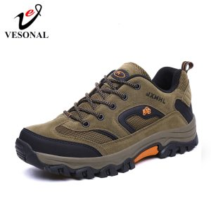 VESONAL 2019 New Autumn Winter Sneakers Men Shoes Casual Outdoor Hiking Comfortable Mesh Breathable Male Footwear Innrech Market.com