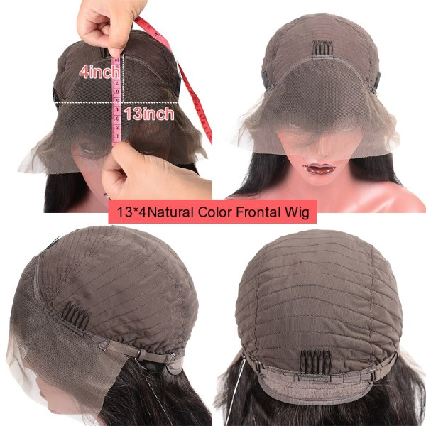 Younsolo 13x4 Lace Front Human Hair Wigs For Black Women Remy Brazilian Water Wave Lace Front 4 Younsolo 13x4 Lace Front Human Hair Wigs For Black Women Remy Brazilian Water Wave Lace Front Wig Pre Plucked With Baby Hair