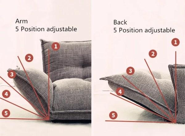 image3 Lazy Sofa, Tatami Small Huxing Double Japanese Dual-purpose Reading Bedroom, Balcony, Leisure Folding Sofa Bed