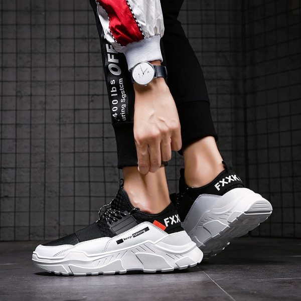 2019 Male Lace up Men Sneakers High Quality Man Non Slip Comfortable Casual Shoes Mesh Sneakers 4 2019 Male Lace-up Men Sneakers High Quality Man Non Slip Comfortable Casual Shoes Mesh Sneakers Breathable Outdoor Walking Shoes