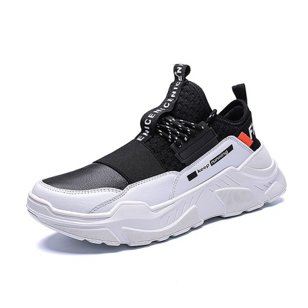 2019 Male Lace up Men Sneakers High Quality Man Non Slip Comfortable Casual Shoes Mesh Sneakers 5 2019 Male Lace-up Men Sneakers High Quality Man Non Slip Comfortable Casual Shoes Mesh Sneakers Breathable Outdoor Walking Shoes