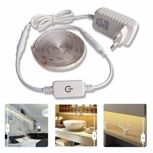 5M LED light Strip Waterproof 2835 Ribbon LED Strip Dimmable Touch Sensor Switch 12V Power Supply Innrech Market.com