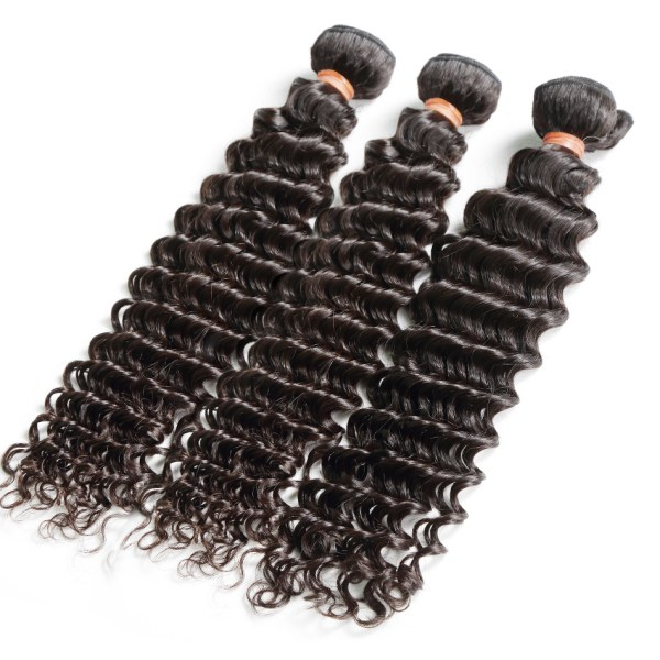 8 28 30 Inch Deep Wave Bundles With Closure Brazilian Remy Curly 100 Human Hair Water 3 8-28 30 Inch Deep Wave Bundles With Closure Brazilian Remy Curly 100% Human Hair Water Wave 3 4 Bundles Weave And Lace Closure