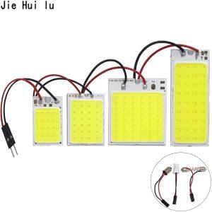 High Quality COB LED Panel Light Super White Car Reading Map Lamp Auto Dome Interior Bulb Innrech Market.com