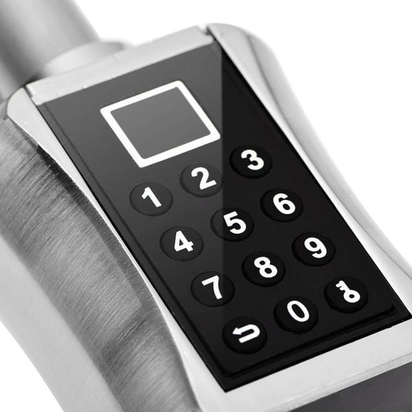 Intelligent Biometric Fingerprint Scanner Door Lock Password Coded Lock for Smart Home fechadura digital cerradura inteligente 5 Intelligent Biometric Fingerprint Scanner Door Lock Password Coded Lock for Smart Home fechadura digital cerradura inteligente