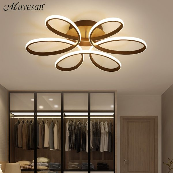 Living room ceiling lamp led dimmable for bedroom aluminum body indoor lighting fixture plafonnier led lights Living room ceiling lamp led dimmable for bedroom aluminum body indoor lighting fixture plafonnier led lights dining room