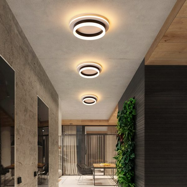Modern Led Ceiling Lights For Hallway Porch Balcony Bedroom Living Room Surface Mounted Square Round LED 1 Modern Led Ceiling Lights For Hallway Porch Balcony Bedroom Living Room Surface Mounted Square/Round LED Ceiling Lamp