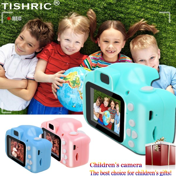TISHRIC Mini Digital Children s Camera 1080P Kids Educational Toys camera For Shooting Video For Children TISHRIC Mini Digital Children's Camera 1080P Kids Educational Toys camera For Shooting Video For Children Baby Birthday/Gifts