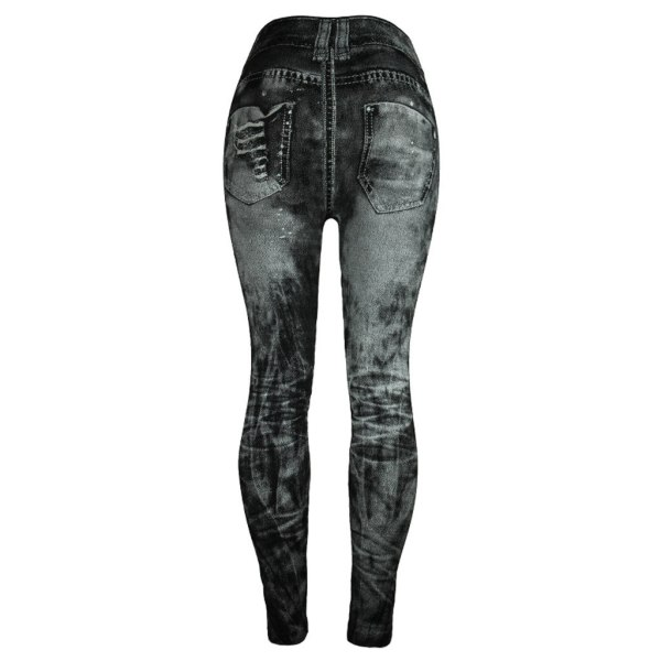Unique style fashion beautiful and elegant Women Jeans Bottom Pants Coloured Hip up Super Bomb Slim 1 Unique style fashion beautiful and elegant Women Jeans Bottom Pants Coloured Hip-up Super Bomb Slim Nine-minute Gray Pant W30416
