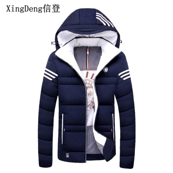 XingDeng Brand Casual Mens Jacket Winter Coats male Thick Jackets Warm men fashion clothes Parka Outerwear XingDeng Brand Casual Mens Jacket Winter Coats male Thick Jackets Warm men fashion clothes Parka Outerwear top Coat Plus 4XL