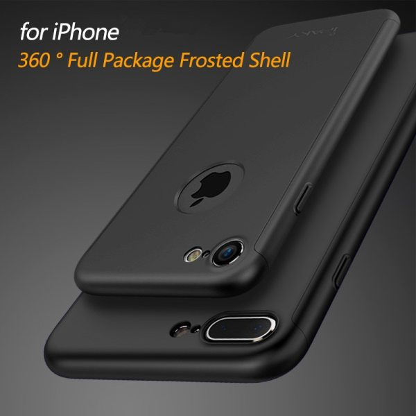 ipaky For iPhone XS MAX Case 360 Full Protective Hard PC Tempered Flim Case cover For 1 ipaky For iPhone XS MAX Case 360 Full Protective Hard PC Tempered Flim Case cover For iPhone X XR 8 7 6 6s 10 s plus coque cases