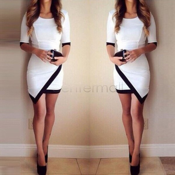 2018 Fashion Dress Women Bandage Bodycon Half Sleeve Evening Sexy Party Mini Dress Ladies Short Mini 2 2018 Fashion Dress Women Bandage Bodycon Half Sleeve Evening Sexy Party Mini Dress Ladies Short Mini Dress Vestidos