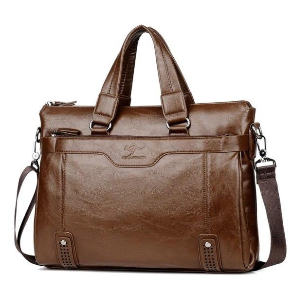 Cowhide Leather men s Briefcase men laptop male messenger bag Men s shoulder bags briefcases for 3 Cowhide Leather men's Briefcase men laptop male messenger bag Men's shoulder bags briefcases for documents bag