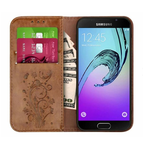 Flip Wallet Leather Case for Samsung Galaxy A7 2017 A5 A3 Cover Embossed Flip Book Cases 1 Flip Wallet Leather Case for Samsung Galaxy A7 2017 A5 A3 Cover Embossed Flip Book Cases for Samsung A5 A3 2016 A310 A510 Bag