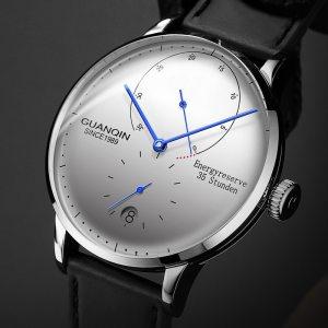 GUANQIN Mechanical Business Watch Men Top Brand Luxury Luminous 316L stainless steel Wrist Mens Automatic Watches Innrech Market.com