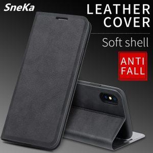 New Flip Wallet Case For Xiaomi Redmi 7A Case Leather Retro Card Holder Slim Back Cover Innrech Market.com