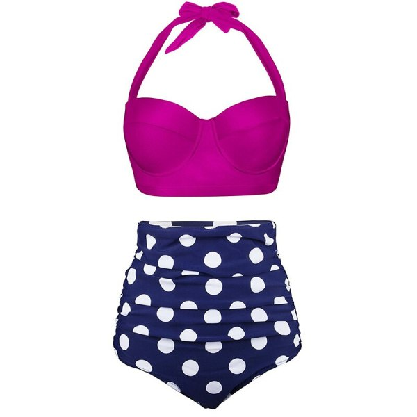 Push Up Women Swimsuit High Waist Bikinis Plus Size Swimwear Vintage Bikini Set Bathing Suits Retro 3 Push Up Women Swimsuit High Waist Bikinis Plus Size Swimwear Vintage Bikini Set Bathing Suits Retro Floral Beach Wear Biquini