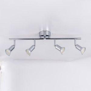 Rotatable led ceiling light angle adjustable showcase lamp with GU10 led bulb Living Room LED cabinet Innrech Market.com