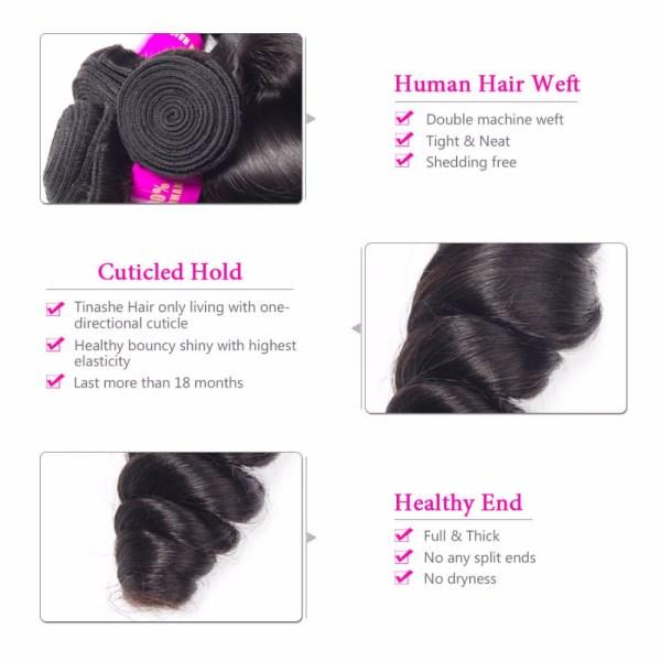 Tinashe Hair Brazilian Hair Weave Bundles With Closure Remy Human Hair 3 Bundles With Closure Loose 3 Tinashe Hair Brazilian Hair Weave Bundles With Closure Remy Human Hair 3 Bundles With Closure Loose Wave Bundles With Closure