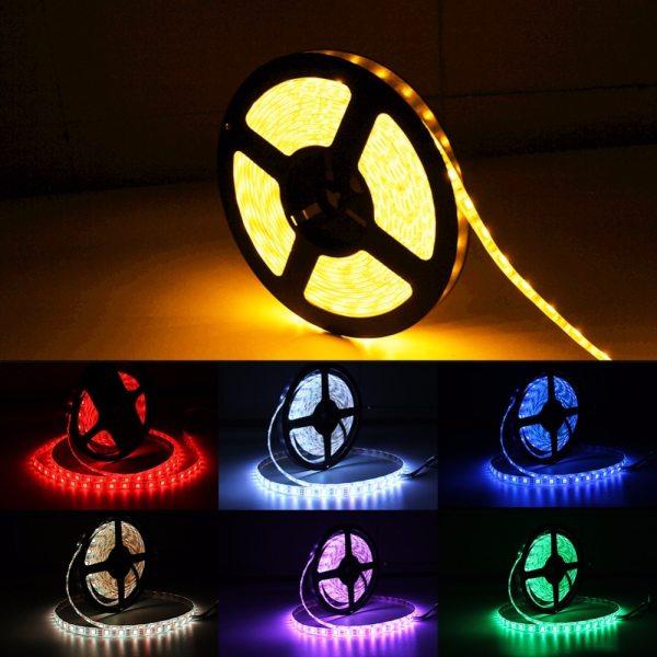 USB LED Strip DC 5V Flexible Light Lamp 60LEDs SMD 2835 50CM 1M 2M 3M 4M 4 USB LED Strip DC 5V Flexible Light Lamp 60LEDs SMD 2835 50CM 1M 2M 3M 4M 5M Mini 3Key Desktop Decor Tape TV Background Lighting