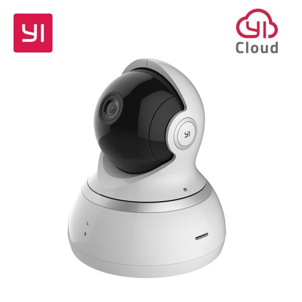 YI 1080P Dome Camera Night Vision International Version Pan Tilt Zoom Wireless IP Security Surveillance YI YI 1080P Dome Camera Night Vision International Version Pan/Tilt/Zoom Wireless IP Security Surveillance YI Cloud Available