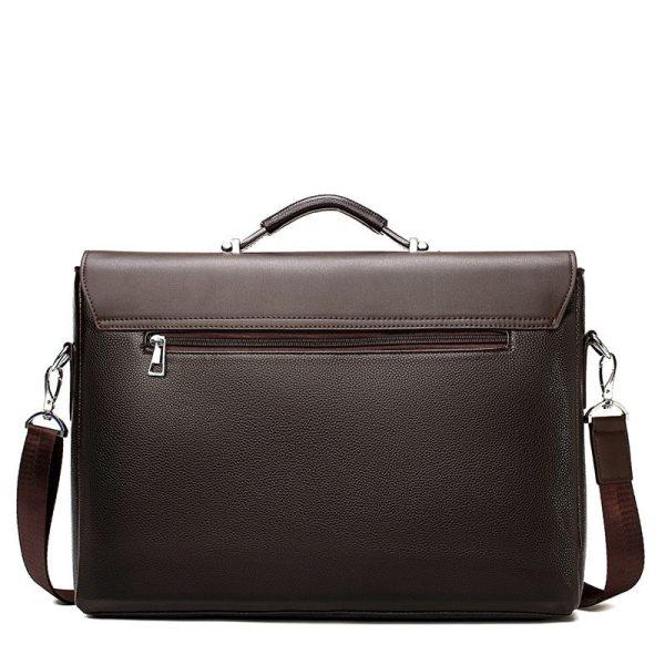 2020 Fashion Business Men Briefcase Leather Laptop Handbag Tote Casual Man Bag For male Shoulder Bag 2 2020 Fashion Business Men Briefcase Leather Laptop Handbag Tote Casual Man Bag For male Shoulder Bag Male Office Messenger Bag