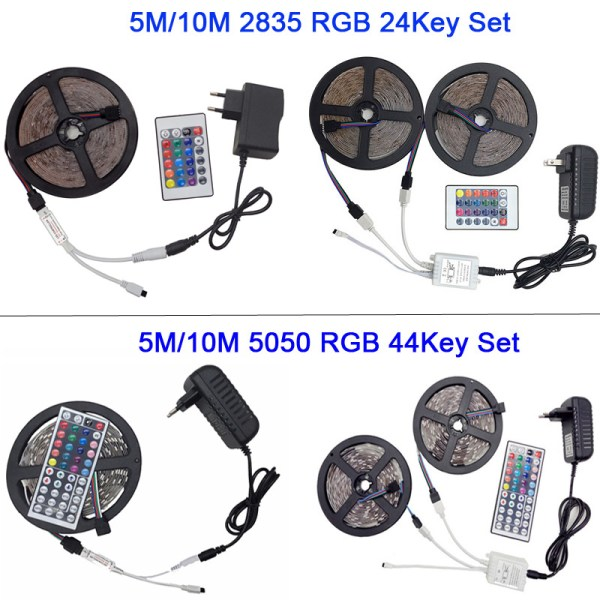 5M 5050 RGB WIFI LED Strip light Waterproof RGB 10M 15M led ribbon tape Remote WIFI 2 5M 5050 RGB WIFI LED Strip light Waterproof RGB 10M 15M led ribbon tape Remote WIFI Wireless Controller 12V power adapter Kit