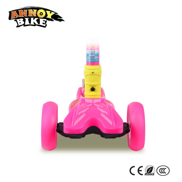 Children Kick Scooter Baby Foldable 3 Wheels LED Outdoor Sport 4 12 Years Old Adjustable Height 3 Children Kick Scooter Baby Foldable 3 Wheels LED Outdoor Sport 4-12 Years Old Adjustable Height Triciclo Bikes Toys Gift For Kid