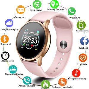 LIGE fit bit Smart Bracelet Men Sport smart Watch IP67 Waterproof Fitness Tracker heart rate Monitor Innrech Market.com