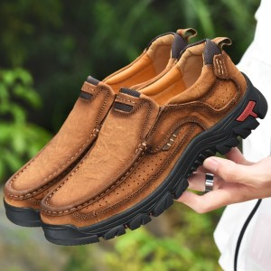 Men Casual Shoes Sneakers 2019 New High Quality Vintage 100 Genuine Leather Shoes Men Cow Leather Innrech Market.com