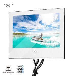 Souria 10 6 inch Mirror Glass USB TV Bathroom IP66 Waterproof LED Television Luxury Small Screen Innrech Market.com