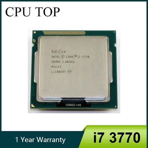 intel Core i7 3770 3 4GHz SR0PK Quad Core LGA 1155 CPU Processor intel Core i7 3770 3.4GHz SR0PK Quad-Core LGA 1155 CPU Processor