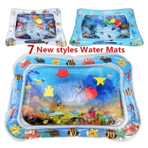 Baby Inflatable Water filled Cushion kids rug Toys For children baby play mats toy Water Fun Innrech Market.com