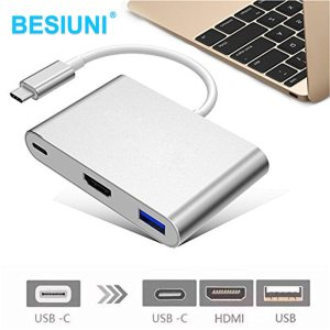 Besiuni USBC 3 1 Converter USB C Type To USB 3 0 HDMI TypeC Female Charger Innrech Market.com