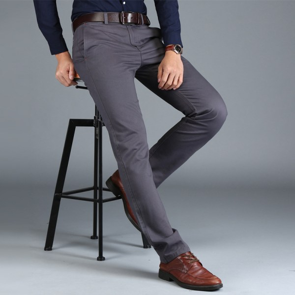 Mens Chinos High Quality Cotton Casual Pants Stretch Male Trousers Man Long Straight Plus Size chinos 2 Mens Chinos High Quality Cotton Casual Pants Stretch Male Trousers Man Long Straight Plus Size chinos pants
