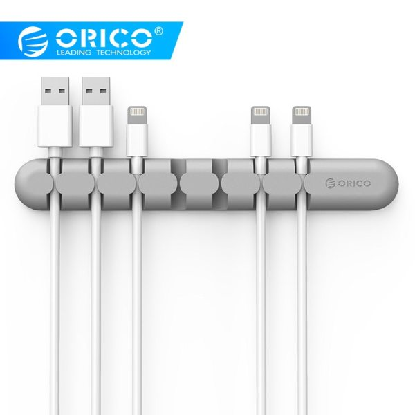ORICO CBS Cable Winder Earphone Cable Organizer Wire Storage Silicon Charger Cable Holder Clips for MP3 ORICO CBS Cable Winder Earphone Cable Organizer Wire Storage Silicon Charger Cable Holder Clips for MP3 ,MP4 ,Mouse,Earphone