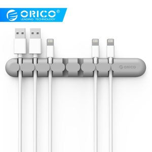 ORICO CBS Cable Winder Earphone Cable Organizer Wire Storage Silicon Charger Cable Holder Clips for MP3 Innrech Market.com